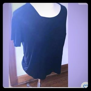 AEO Soft And Sexy T Black Size Small Front Pocket.